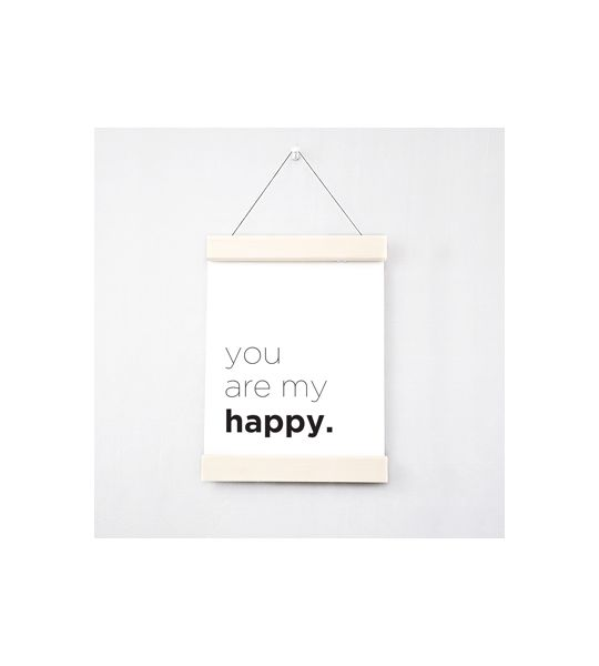 You Are My Happy Poster